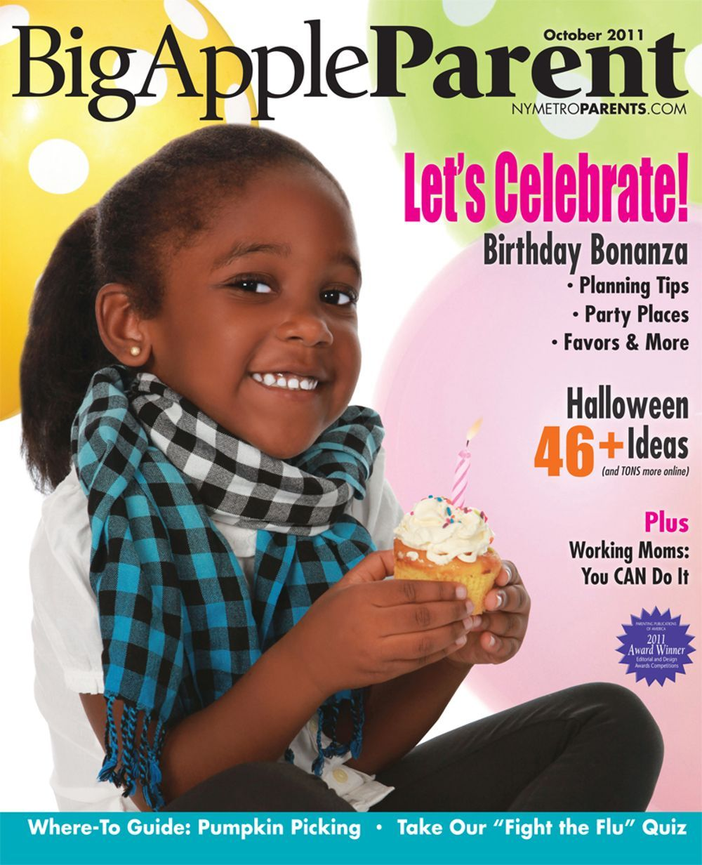 Big Apple Parent October 2011 cover
