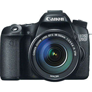 Canon EOS 70D DSLR Camera
