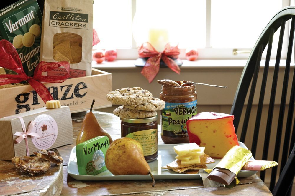 Graze Delivered Green Mountain Deluxe gift basket