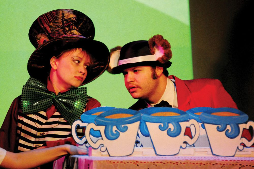 Mad Hatter, Alice in Wonderland Off Broadway