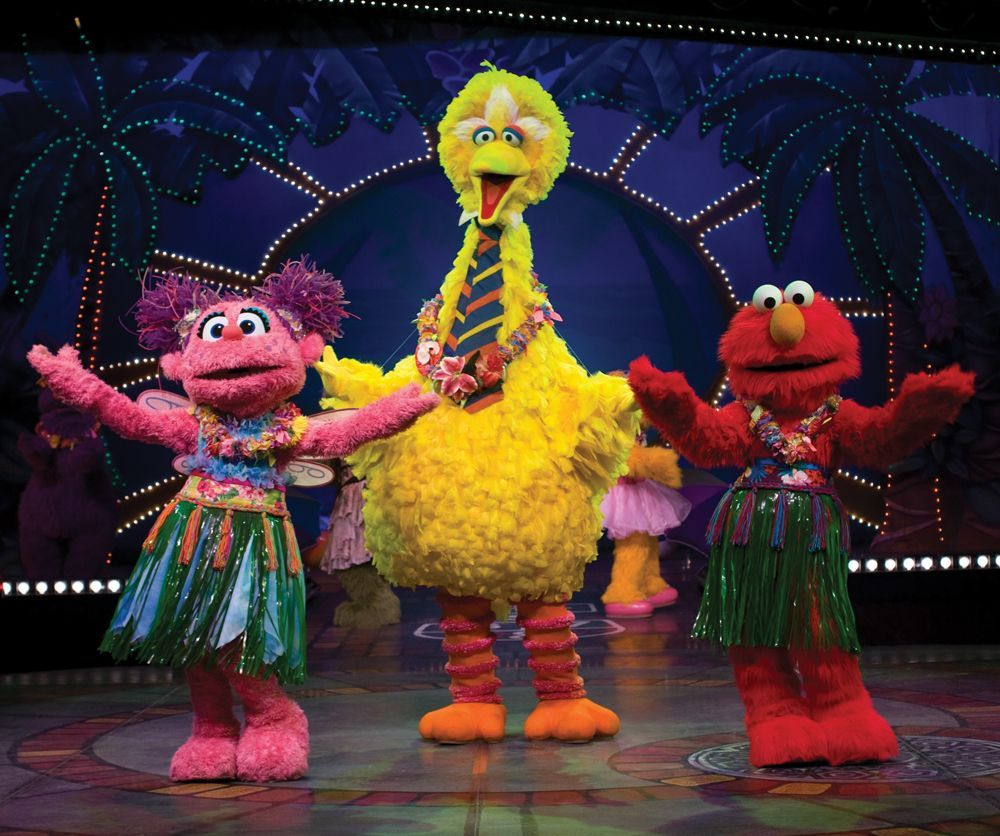 Sesame Street Live 1 2 3 Imagine
