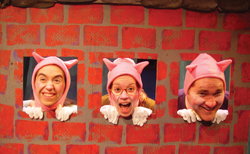 Three Little Pigs at Theatre Three