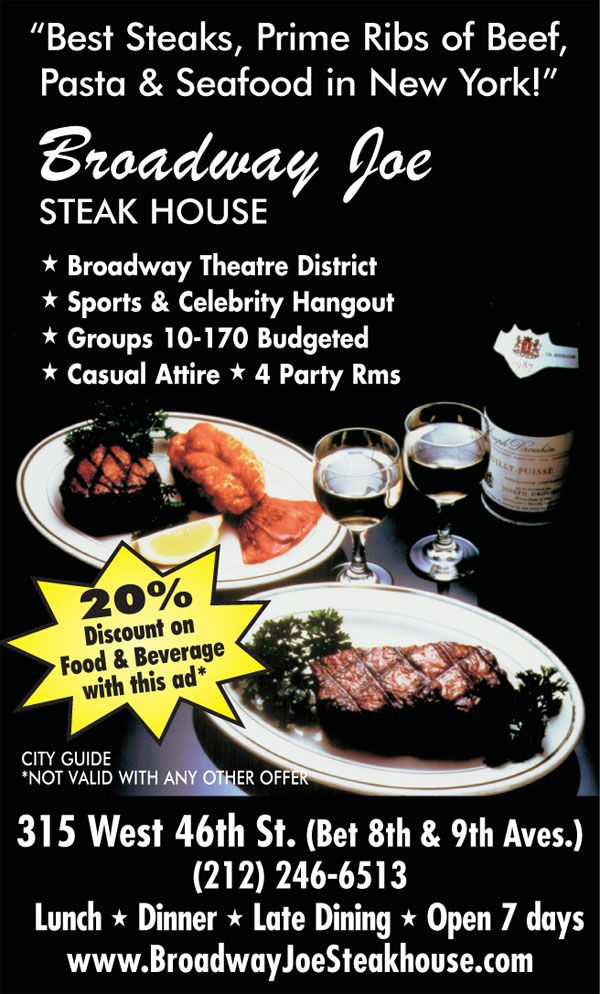 Broadway Joe Steakhouse