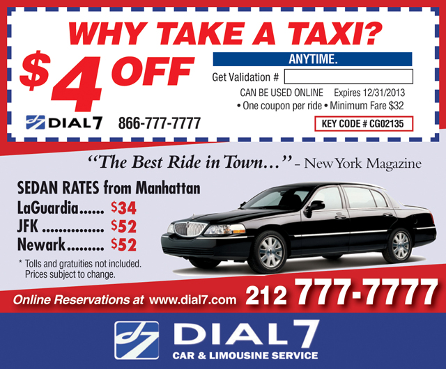 Dial 777 car coupon