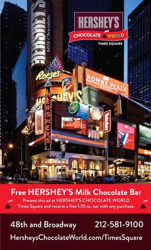 Hershey's Chocolate World Times Square
