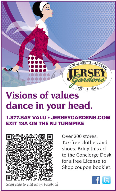 New jersey gardens coupons