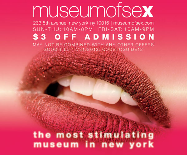 Museum Of Sex Coupons 101