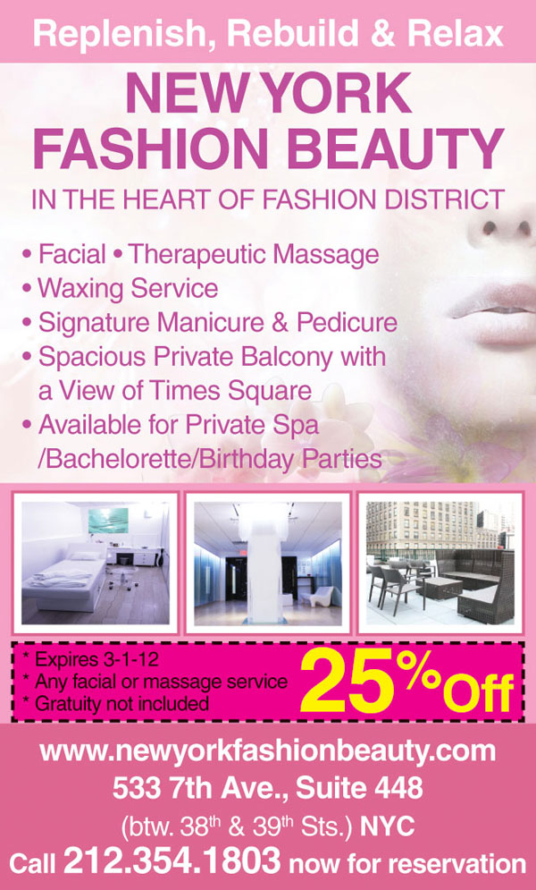 New York Fashion Beauty Spa