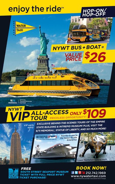 New york water taxi coupon code