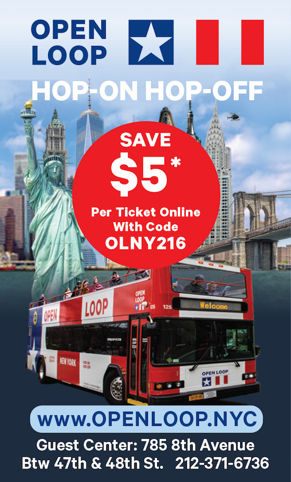 Open Loop  - Take $5 off with online code OLNY216 Expires: 6/30/2017