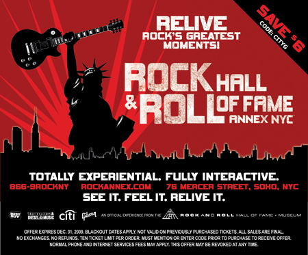 Rock and roll hall of fame discount coupons