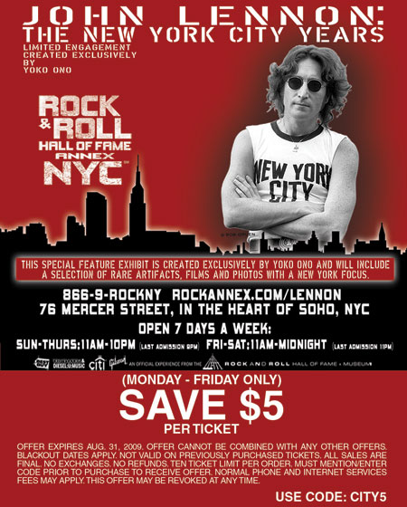 Get better discounts on your spending by using this code. Enjoy this wonderful promotion from Rock And Roll Hall Of Fame.