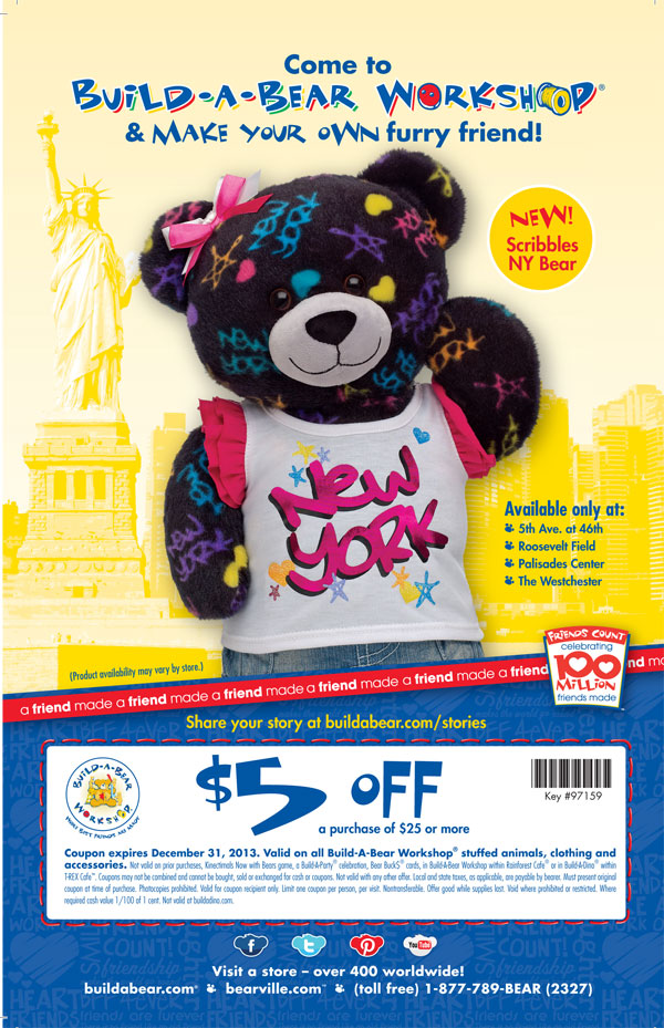 Build a bear discount coupons uk