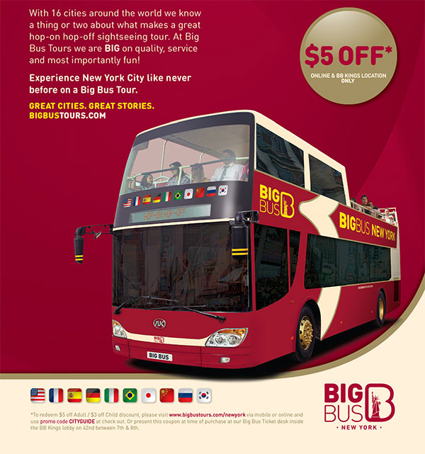 Coupons For Big Bus Tours New York