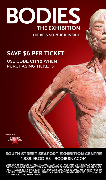 Discount coupons for pompeii exhibit
