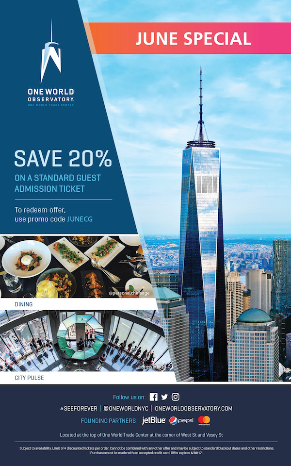one world trade center observation deck coupon