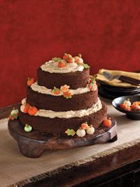 Autumn Halloween Cake