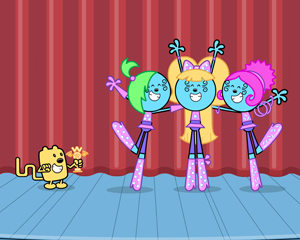Wow! Wow! Wubbzy! and Beyonce in Wubb Idol