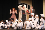101 Dalmations on stage, BroadHollow Theatre at Elmont