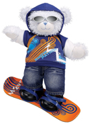 Build-A-Bear's Snow Patrol Cuddly Hugs Blue Teddy