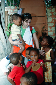 World Vision, relief workers in Haiti