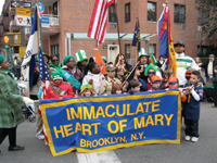 Brooklyn Scouts, Immaculate Heart of Mary school