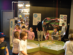 Bubble Gallery at Long Island Children's Museum