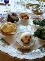 Passover dishes, sader dishes, holiday food