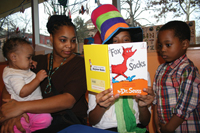 Dr. Seuss reading events at Brookltn Children's Museum; Happy Birthday, Dr. Seuss; Read Across America