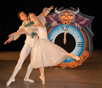 Cinderella, performed by the New York Theatre Ballet