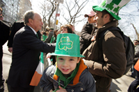 St. Patrick's Day events and activities in Manhattan