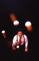 Will Shaw, juggler; juggling show