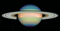Saturn; the planet saturn; planet with rings