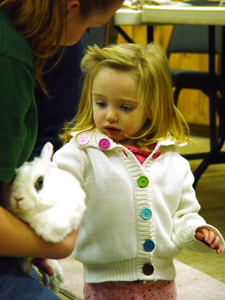 Beardsley Zoo; Fairfield County, CT; Bridgeport, CT; kids at zoo; girl with bunny rabbit
