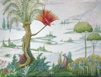 Planting Fields Arboretum; landscape mural; Mai Coe