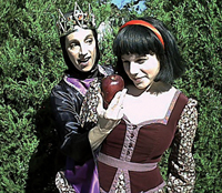 Snow White; BroadHollow Children's Theatre; kids theater; Snow White and the evil queen; Snow White and the Seven Dwarves