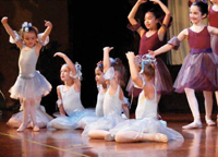 The Three Sisters and the Magic Doll Shop; children's ballet; ballet theater; the Hampton Ballet Theatre School