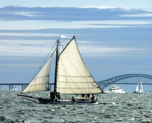 Long Island Maritime Museum; Priscilla; oyster dredge; ship; boat; Long Island, NY