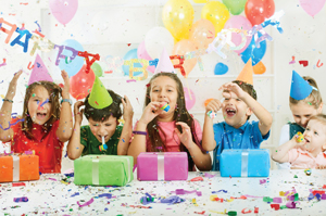 kids birthday party; children's party
