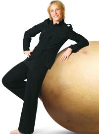 "Deborah Colker, director of Cirque du Soleil's ""Ovo"""
