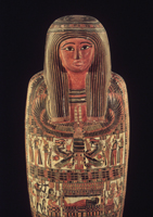 Egyptian mummy; Brooklyn Museum; The Mummy Chamber