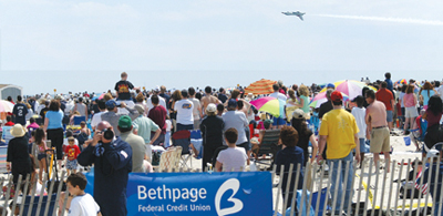 Jones Beach; 7th annual Bethpage federal credit union air show