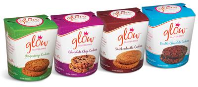 glow gluten free cookies