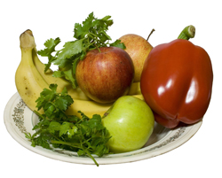 fruit and vegetables; healthy food