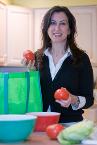 "Jeanne Muchnick, author of ""Dinner for Busy Moms: Easy Strategies for Getting Your Family to the Table"""