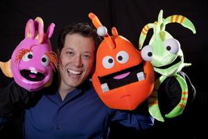 John Tartaglia with ImaginOcean puppets