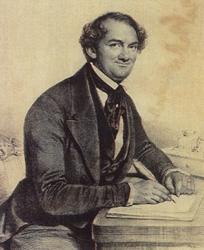 P.T. Barnum; drawing; portrait; Barnum Museum