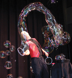 Bubblemania; Comedy with a Drip; Casey Carle
