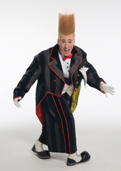 Bello Nock; Big Apple Circus; clown; Bello is Back!