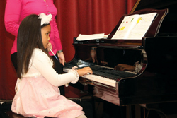 PACONY; Performing Arts Conservatory of New York; young girl playing piano